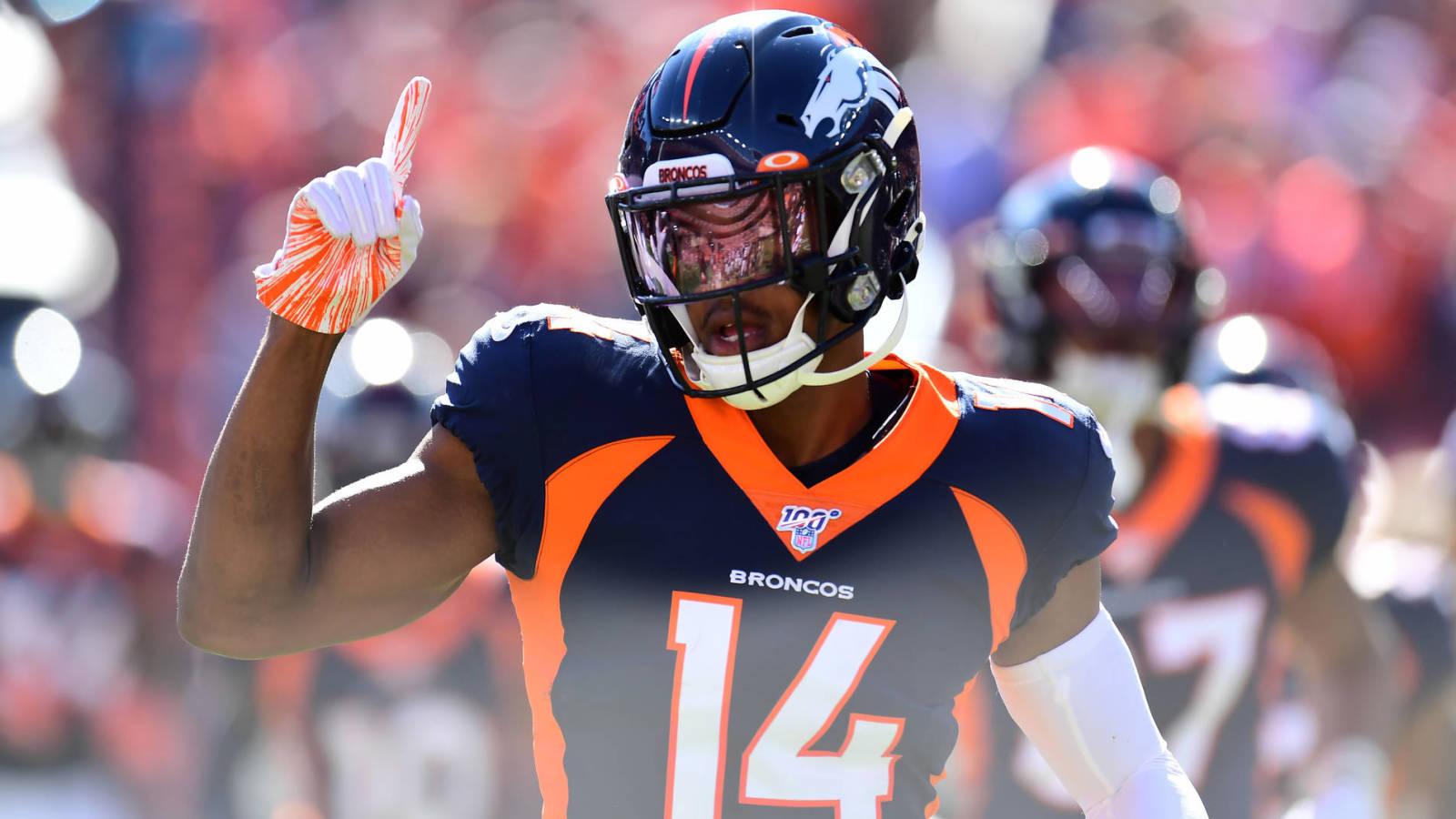 Watch: Broncos WR Courtland Sutton makes wild 48-yard catch - Yardbarker