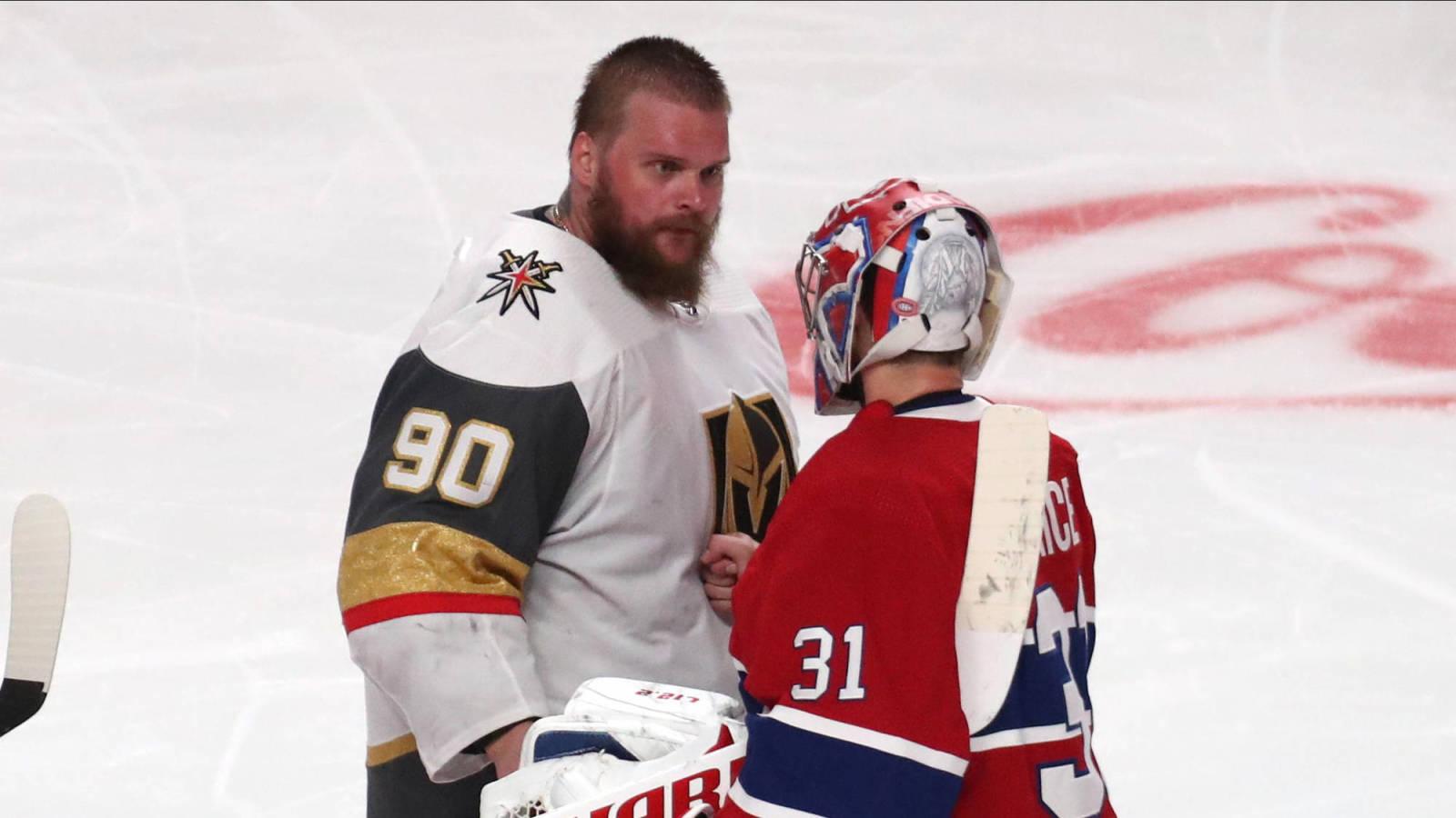 Robin Lehner dari Vegas menuduh tim NHL melakukan malpraktik medis