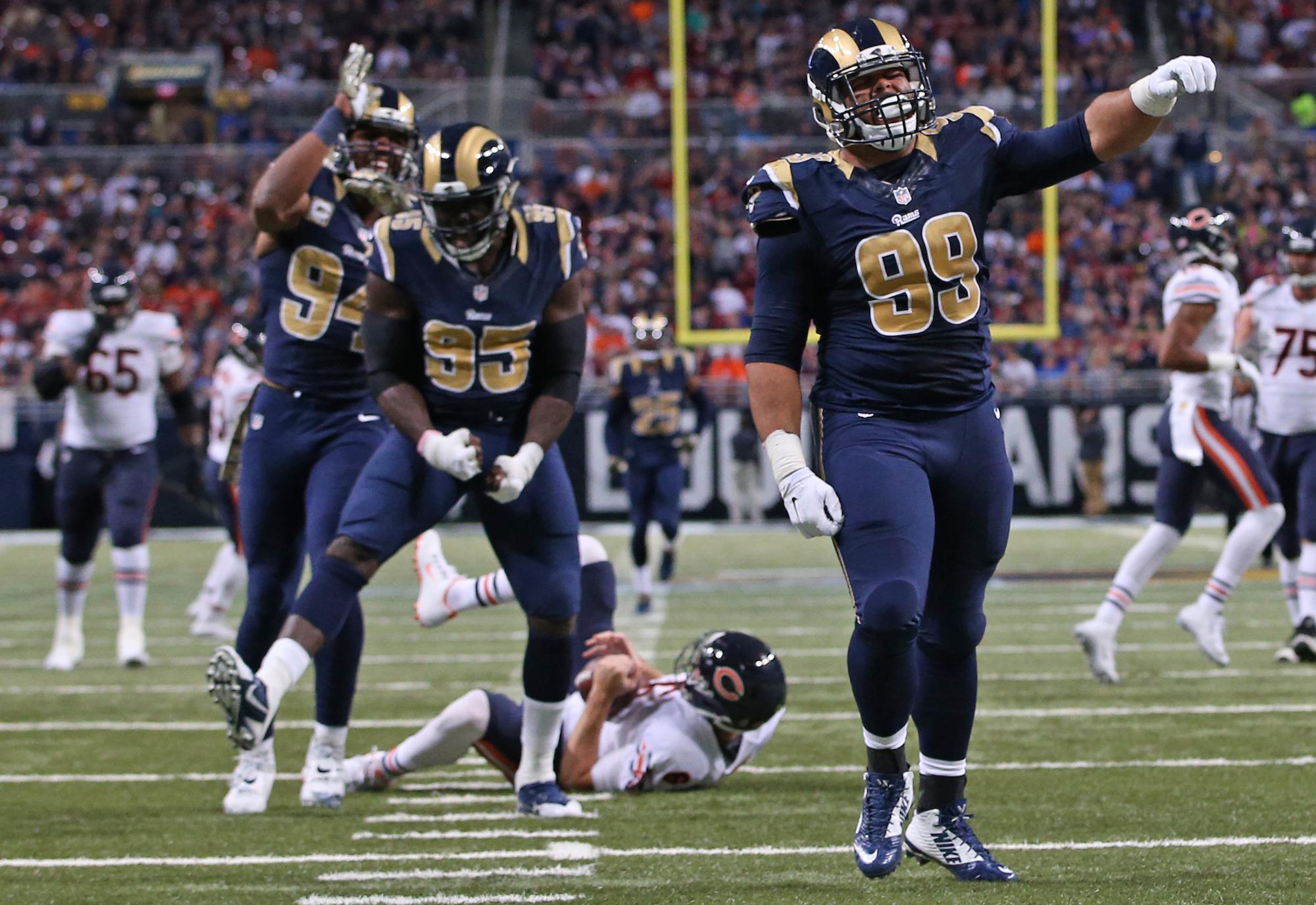 Men's Los Angeles Rams Michael Brockers Pro Line Navy Team Color ...