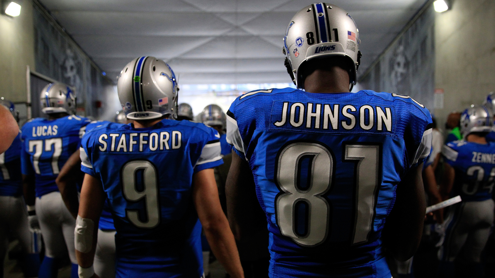 Matthew Stafford Things Will Be Obviously Different Without Calvin Johnson Yardbarker