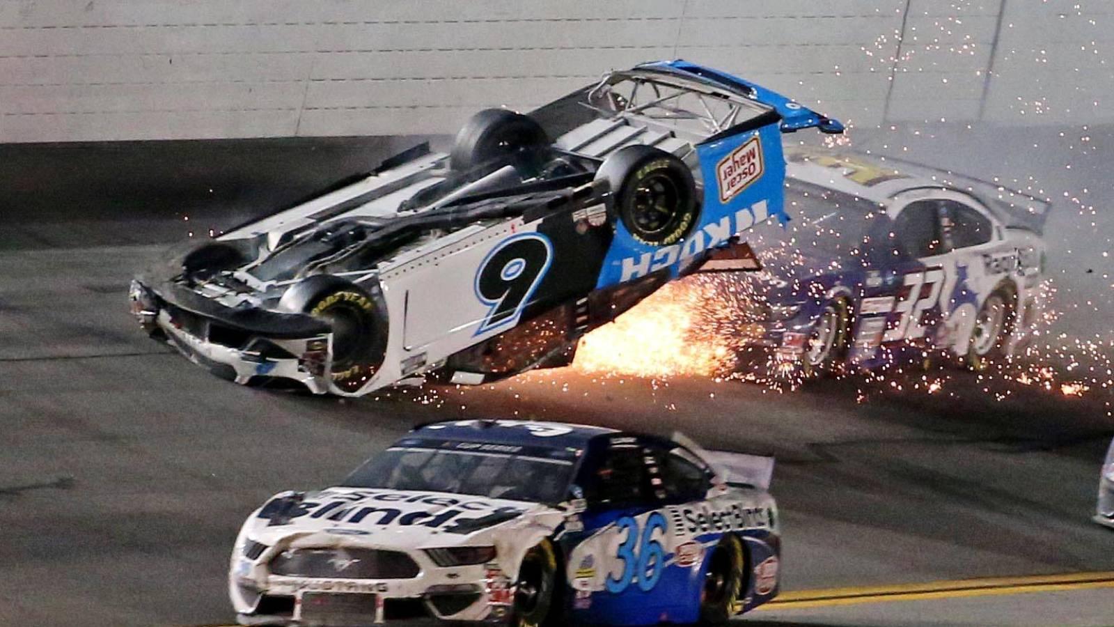 NASCAR driver Ryan Newman awake and speaking to...