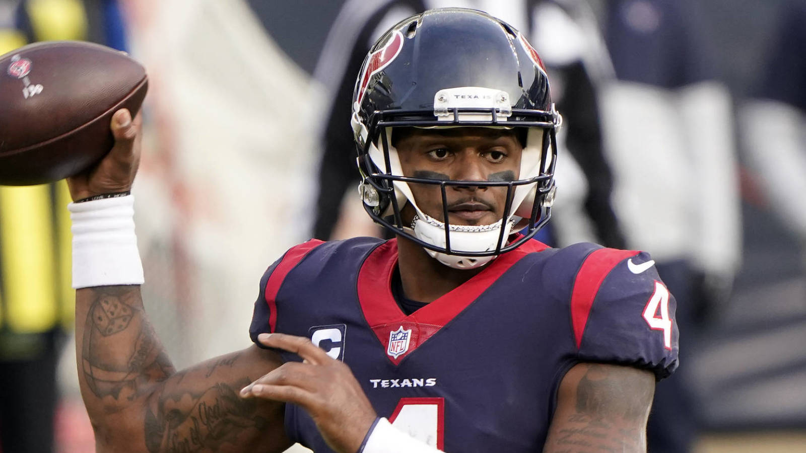 Won't Deshaun Watson play another down for the Texans?
