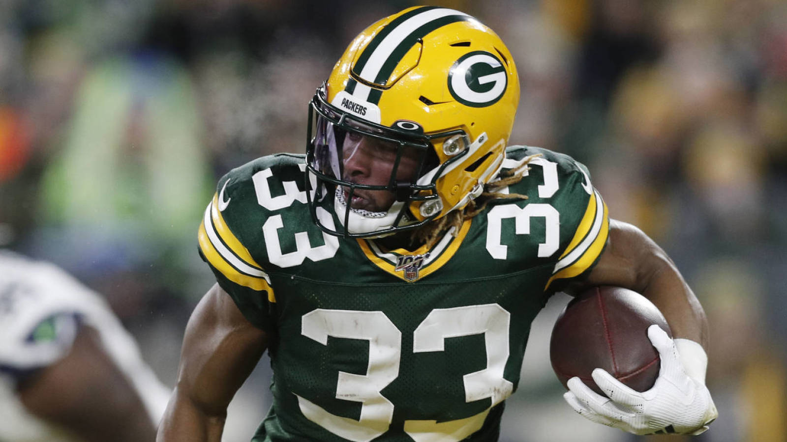 Packers Aaron Jones Have Had Contract Extension Talks Yardbarker