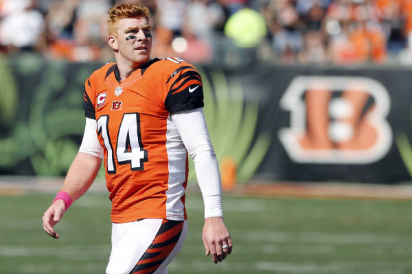 Bengals QB Andy Dalton booed at MLB celebrity softball ...