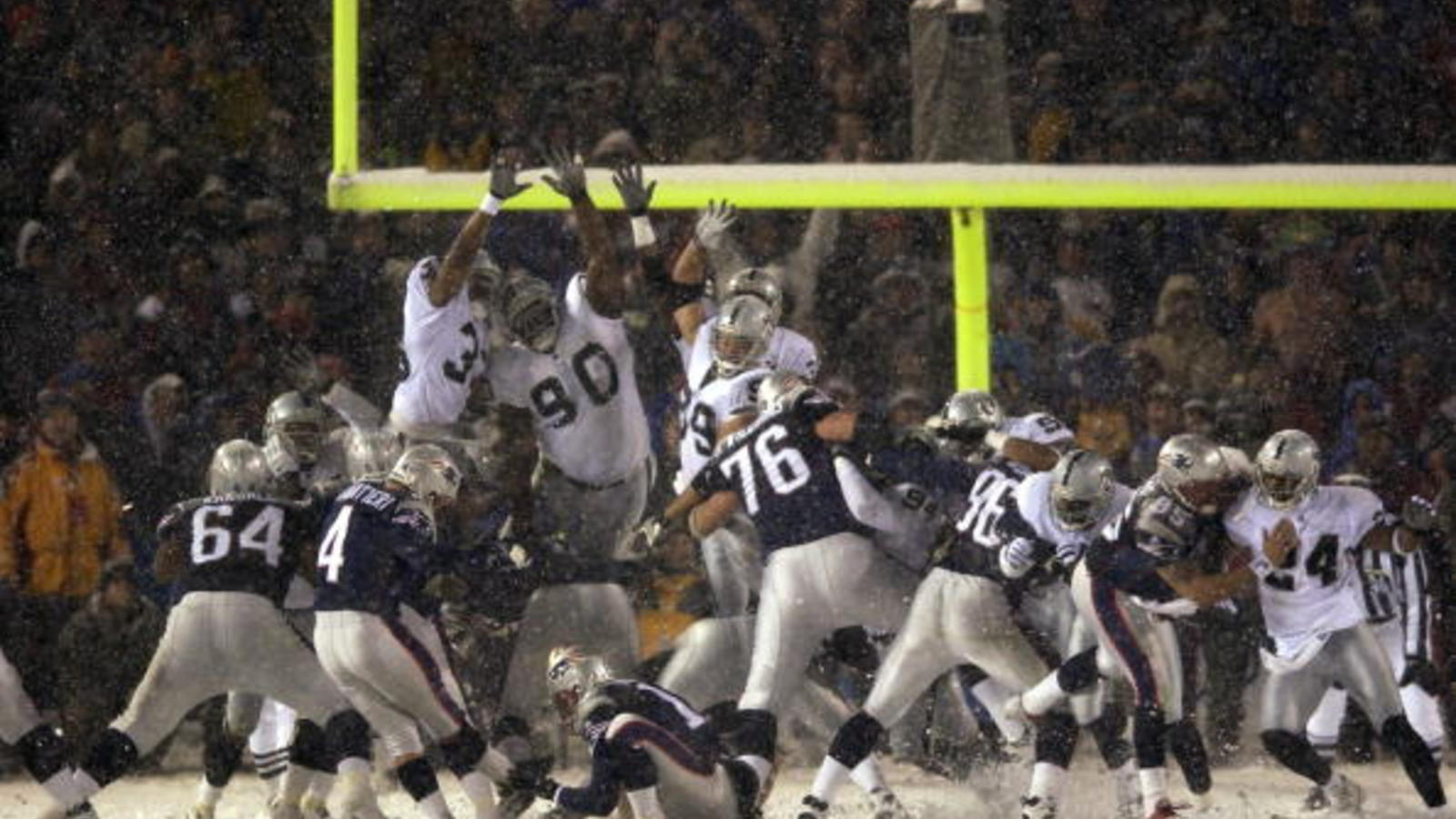 Box Score 1 19 Happy Anniversary To The Tuck Rule Game