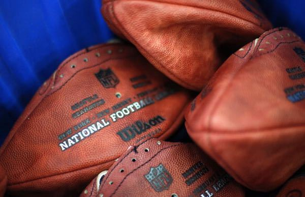 underinflated NFL footballs