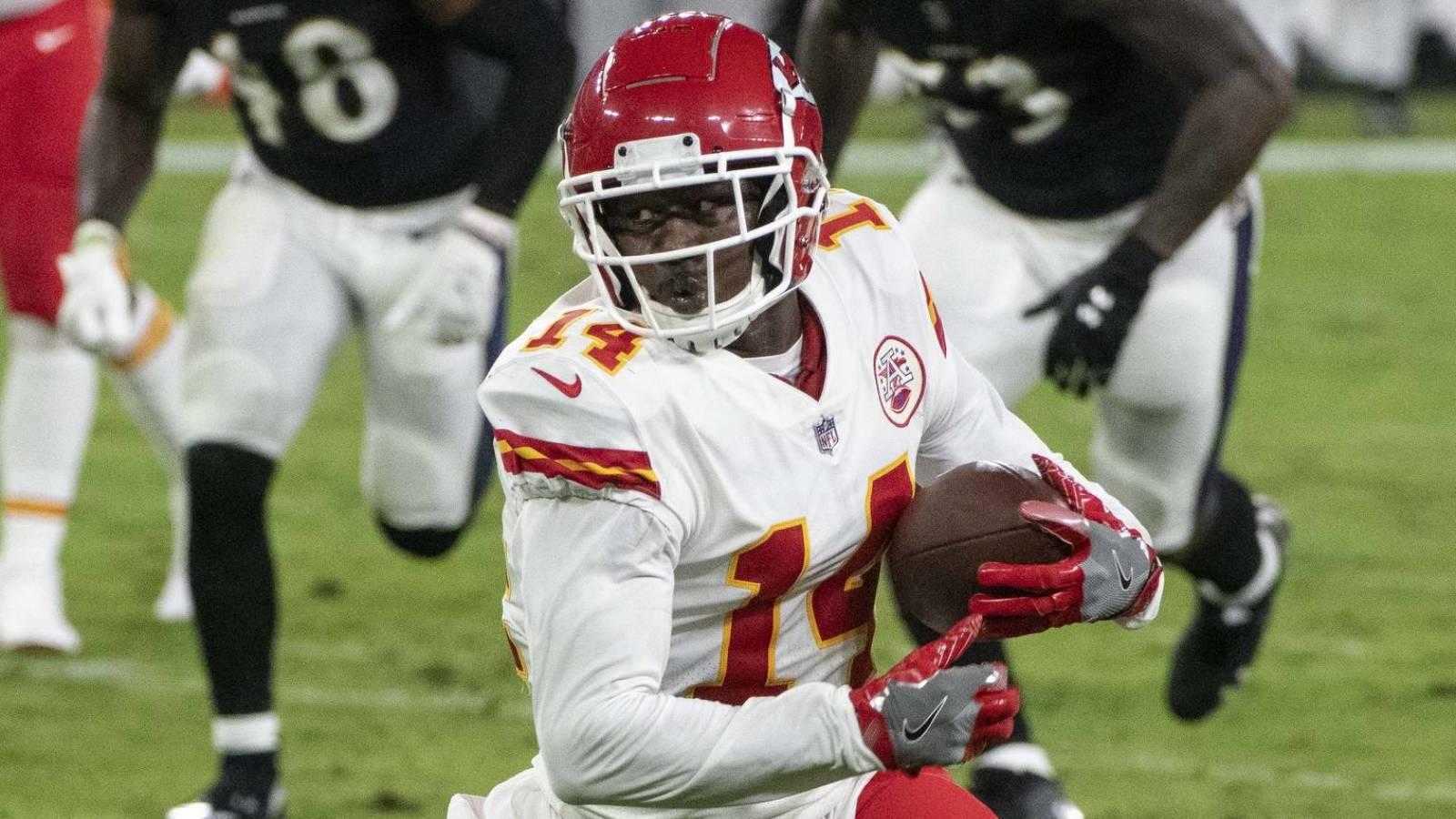 Chiefs GM Brett Veach: It will be 'challenging to retain' Sammy Watkins