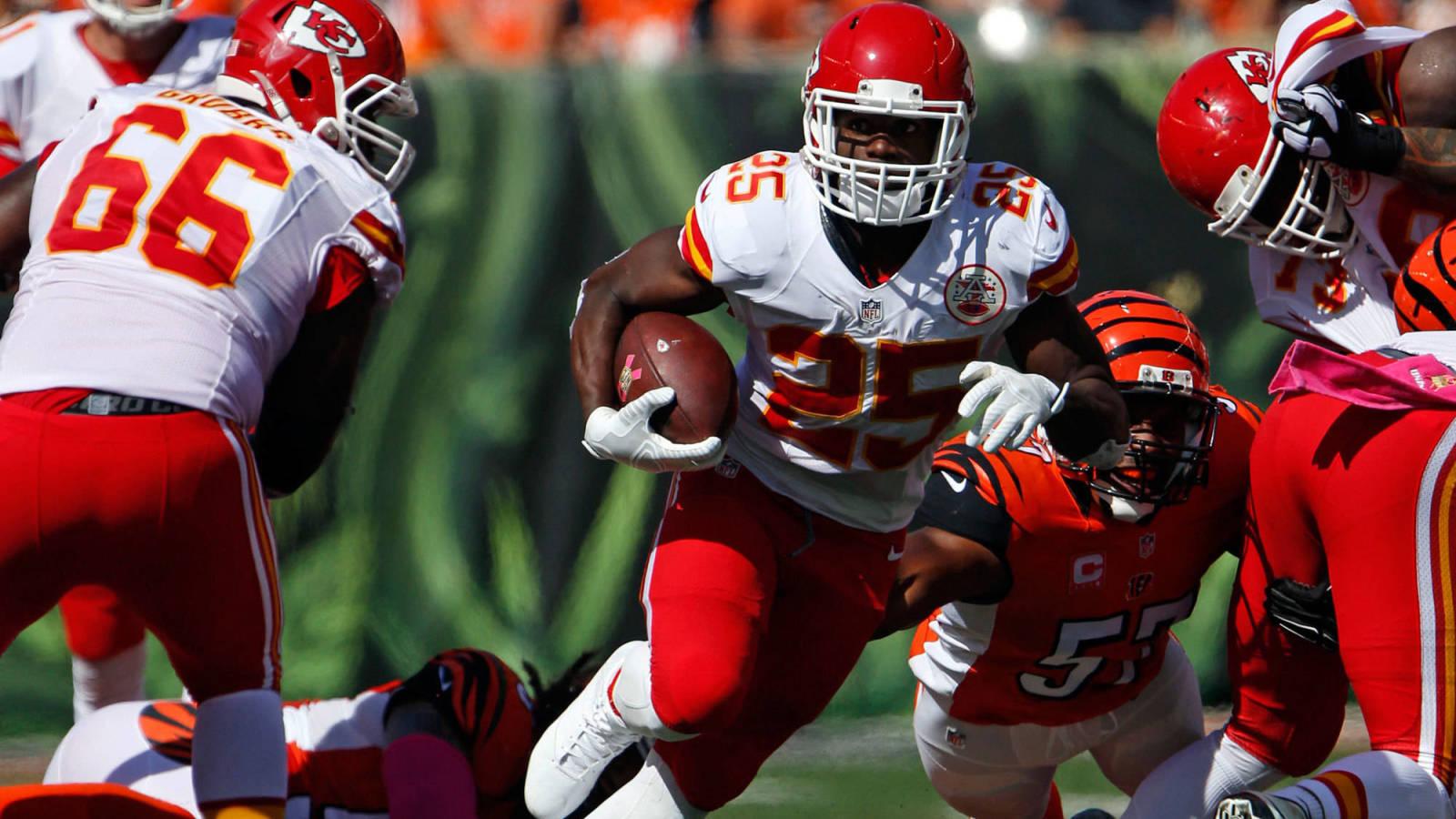 The 'Kansas City Chiefs 1,000 yard rushers' quiz