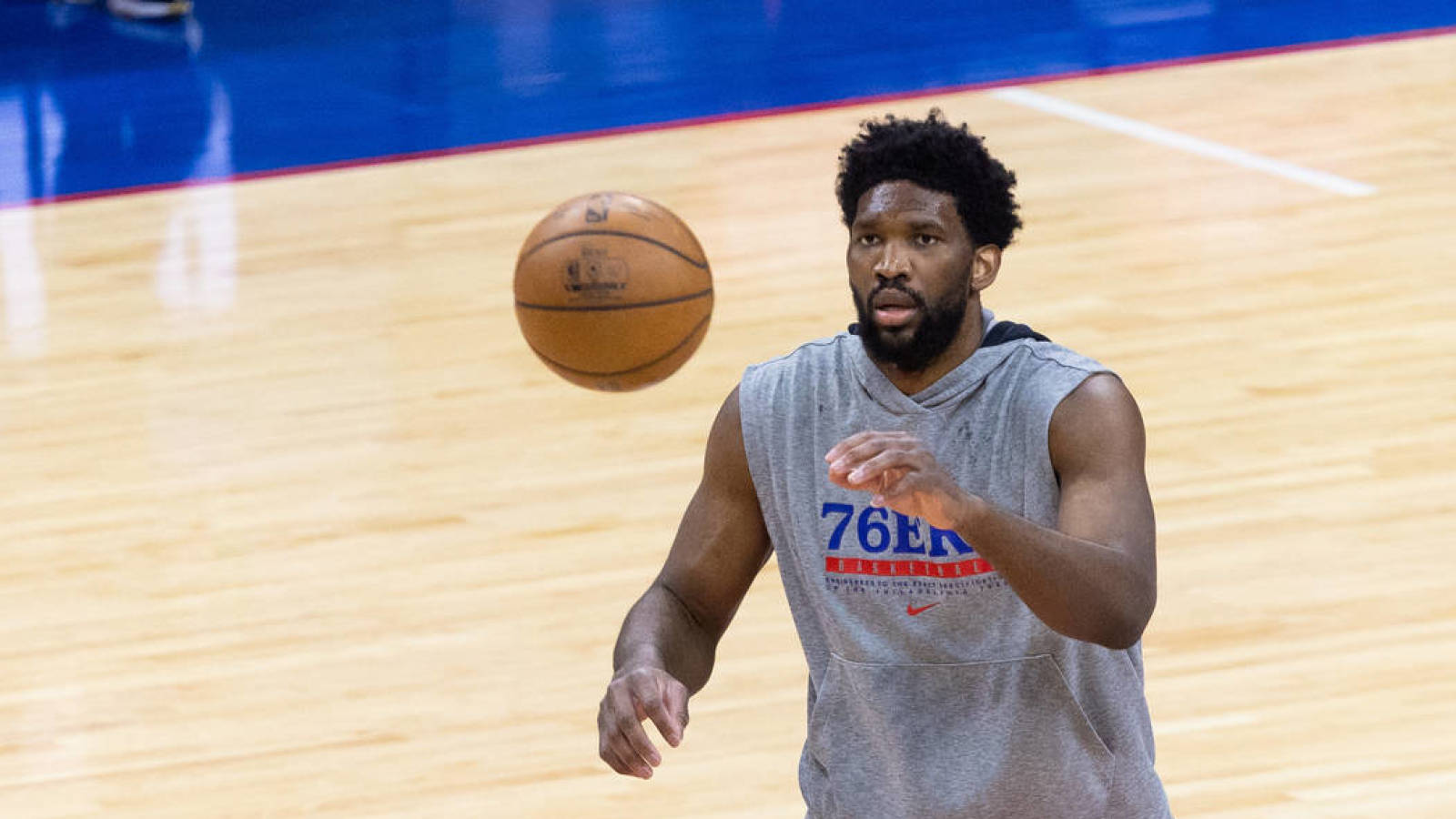 Joel Embiid questionable for Game 1 vs. Hawks