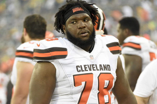Browns OL Alvin Bailey arrested for OVI