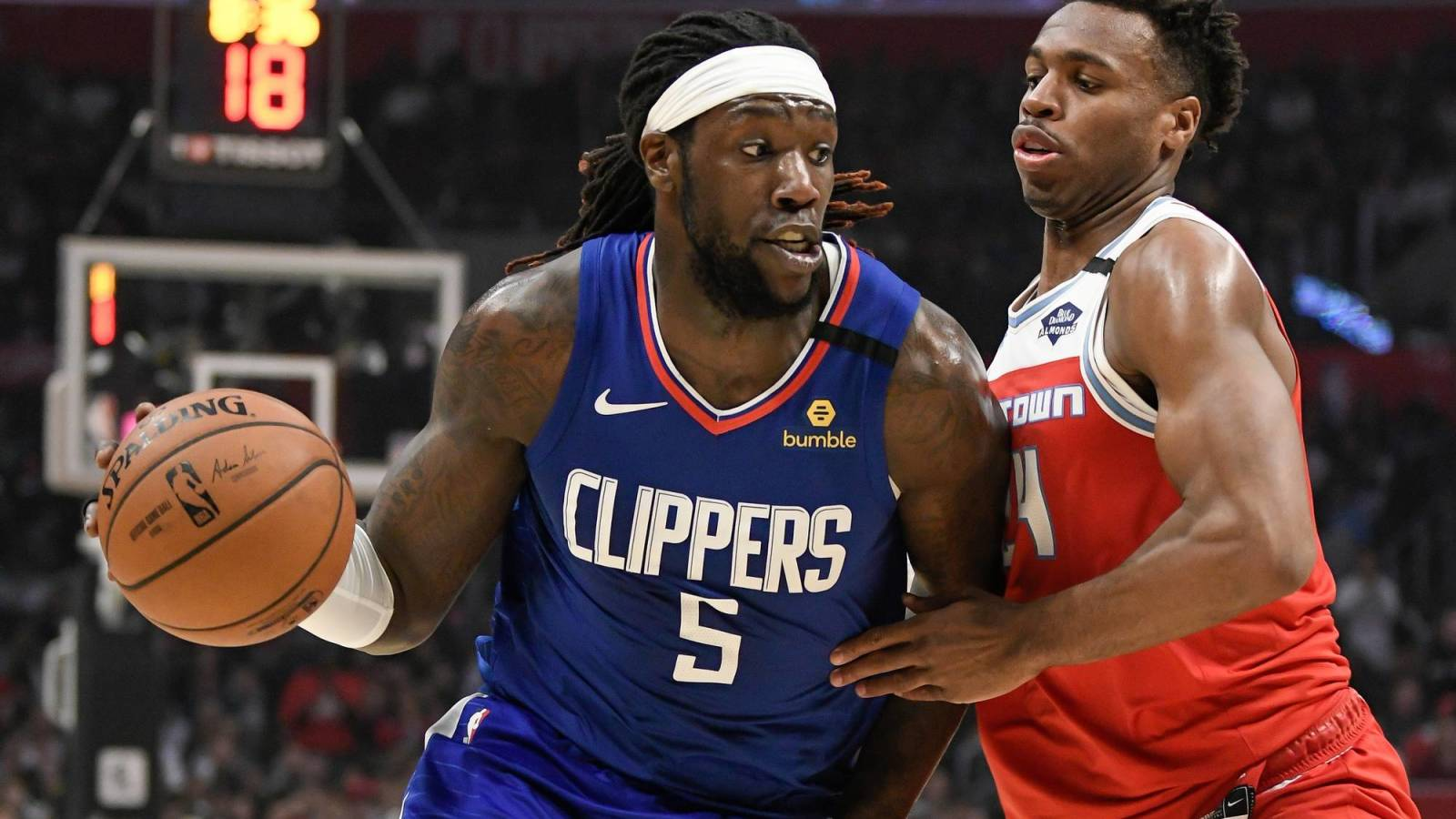 Harrell  bubble with Montrezl leaves deal to Clippers