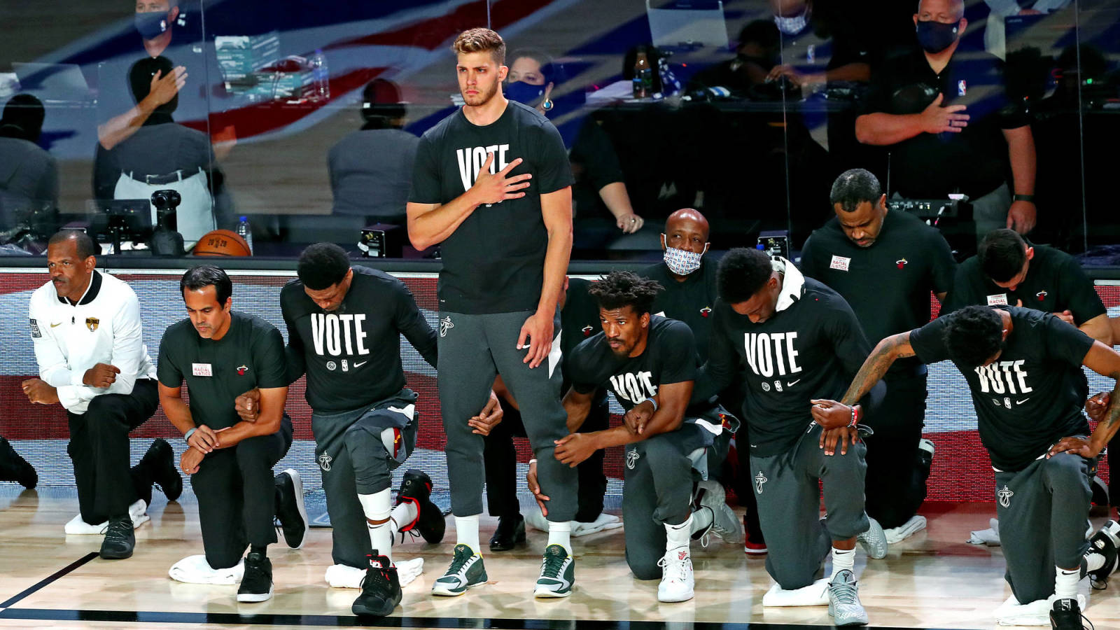 Abc Does Not Televise National Anthem Before Game 2 Of Nba Finals Yardbarker