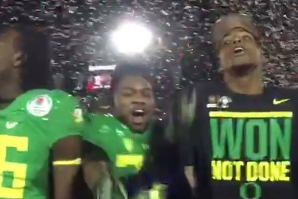 Oregon Players Mock Seminoles Chant With No Means No