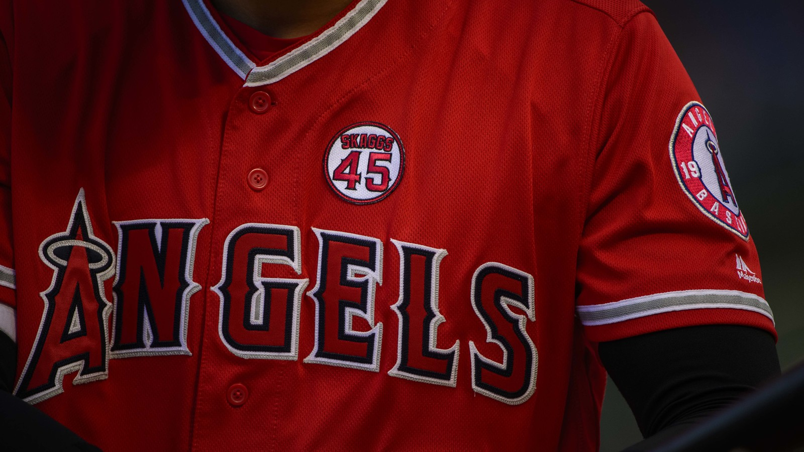 Mike Trout, Tommy La Stella to wear No. 45 during All-Star Game in tribute to Tyler Skaggs