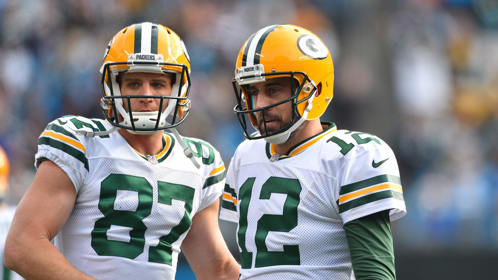 Aaron Rodgers appears to send a message to Packers about Jordy