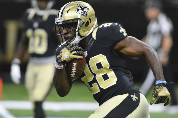 CJ Spiller works out with Packers