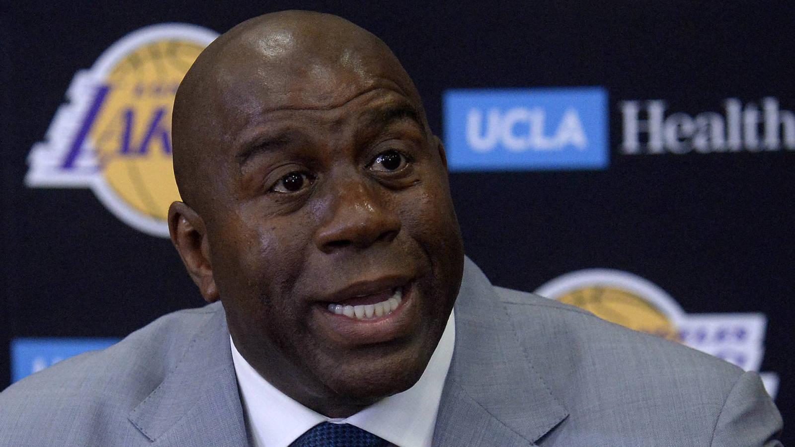 Magic Johnson Larry Nance is secret weapon for Lakers
