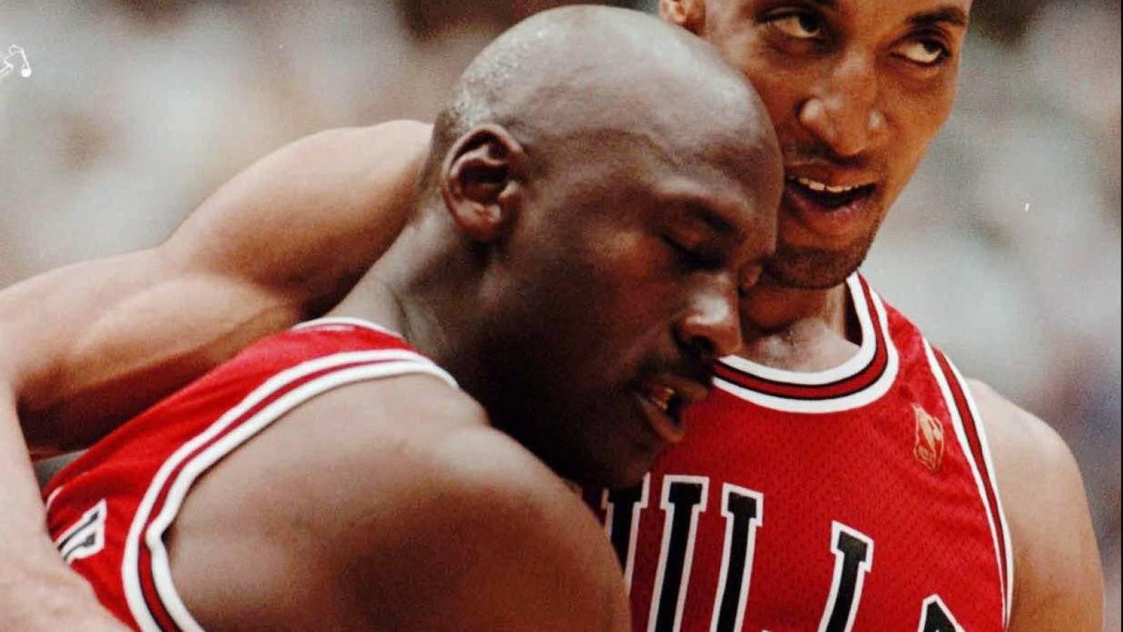 negro colorante Almeja  Was Michael Jordan actually hungover for famous 'flu game'? | Yardbarker