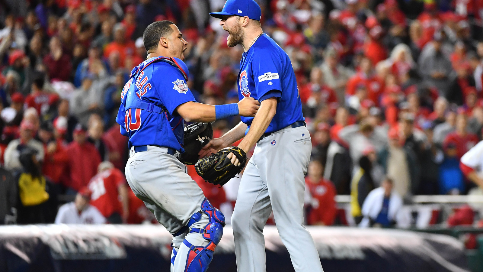 Dodgers on brink of World Series after beating Cubs — NLCS