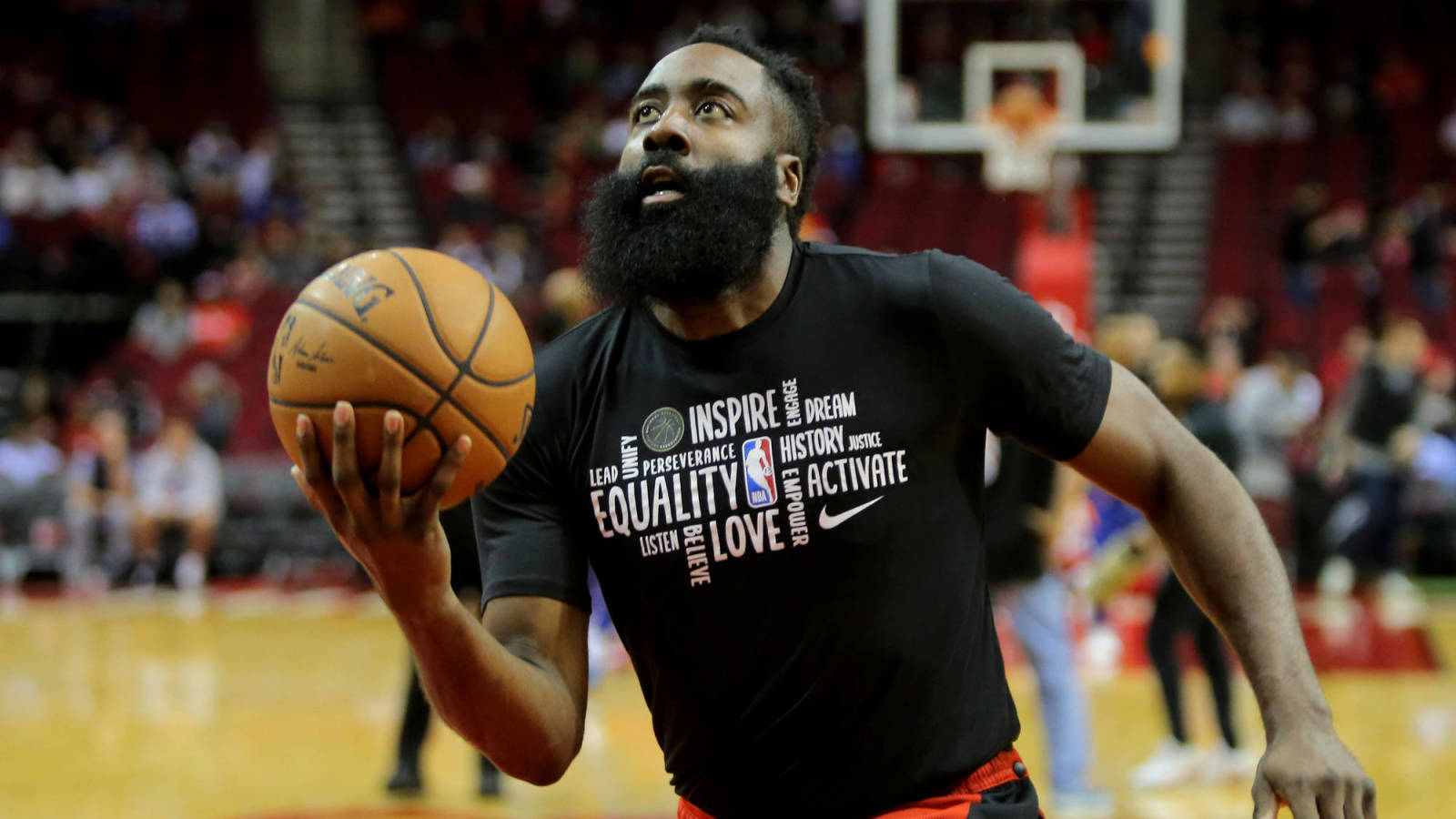 Uncommon James: Harden feels he's the NBA's best player