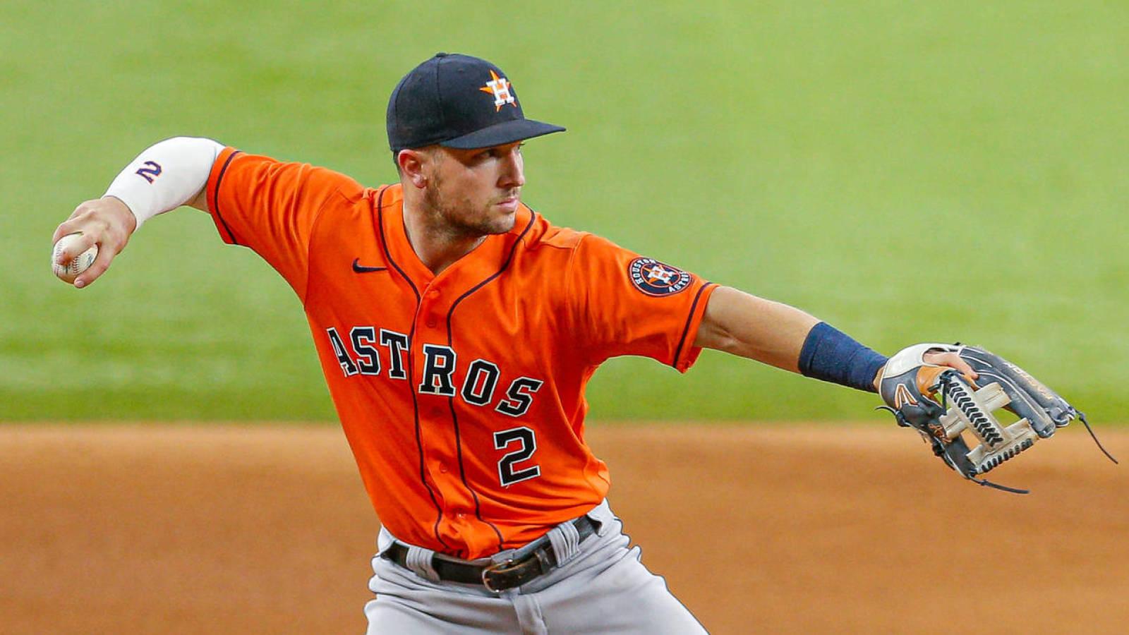 Astros' Alex Bregman at IL with Quad Tension