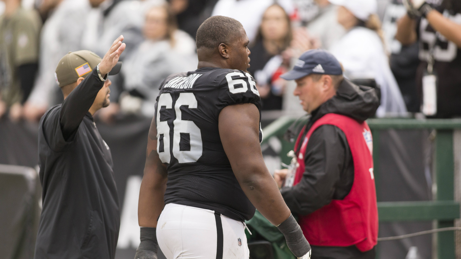 NFL officials unhappy that Gabe Jackson wasn t suspended
