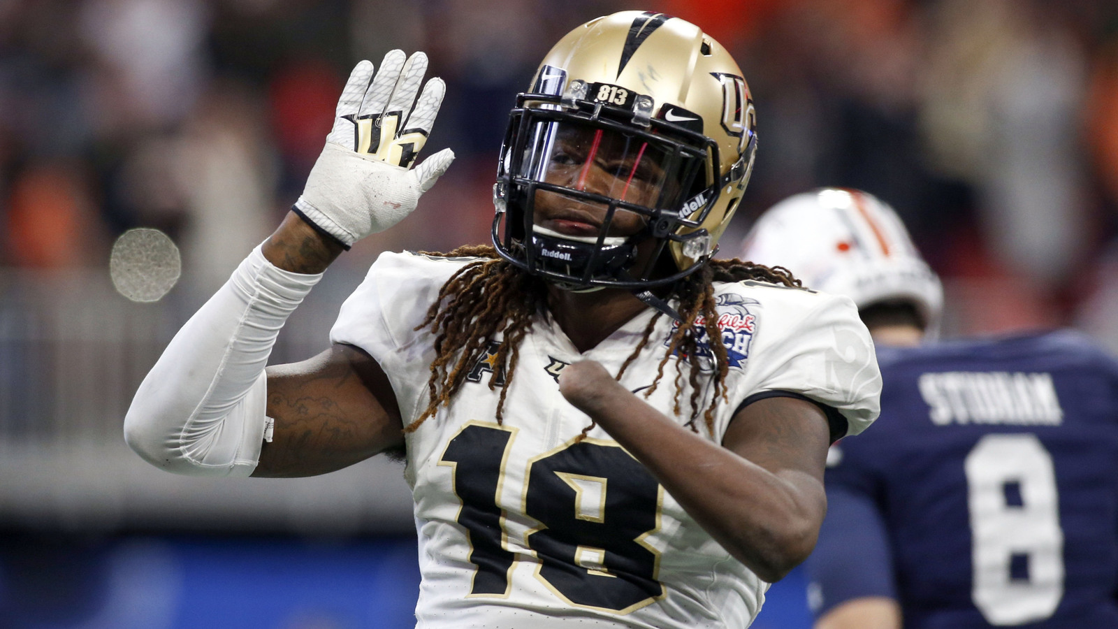2018 NFL Draft: Shaquem Griffin throws up 20 bench press reps