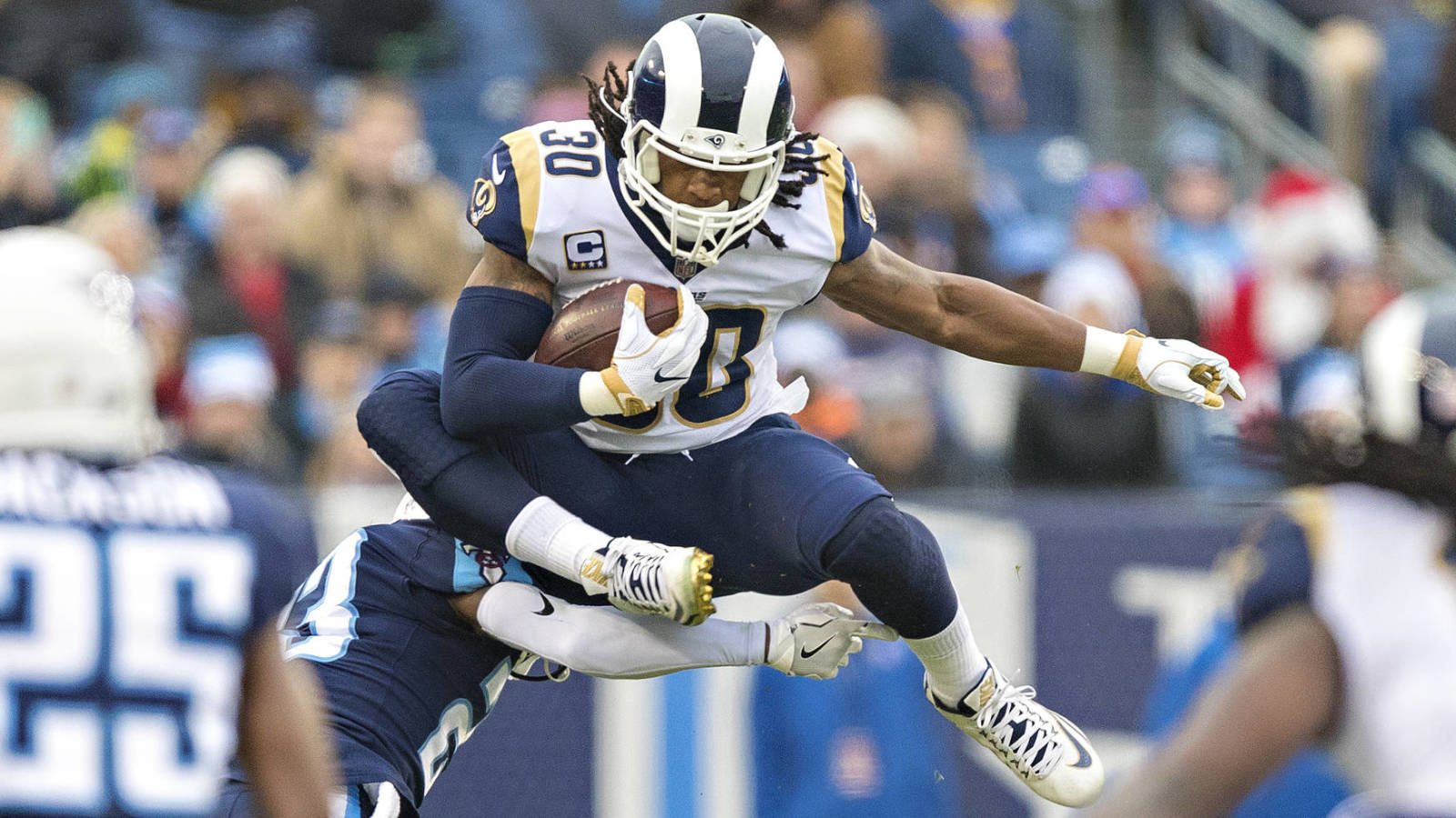 Todd Gurley doesn't care if resting costs him rushing title