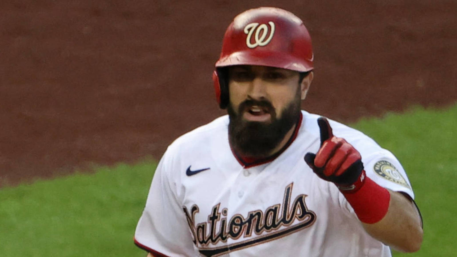 Nationals place Adam Eaton on 10-day IL with broken finger