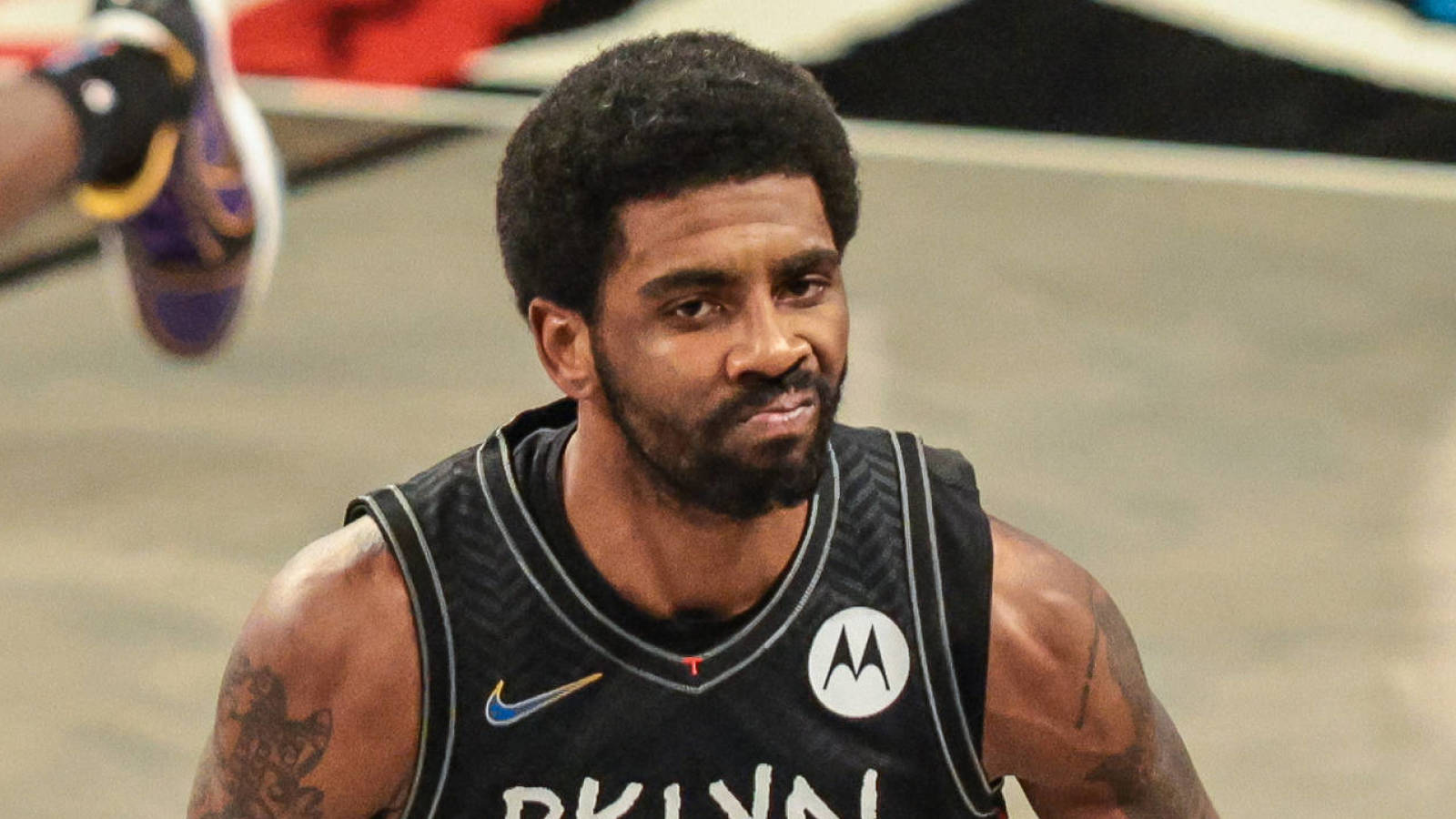 Nets' Irving out for Game 5 vs. Bucks with sprained ankle