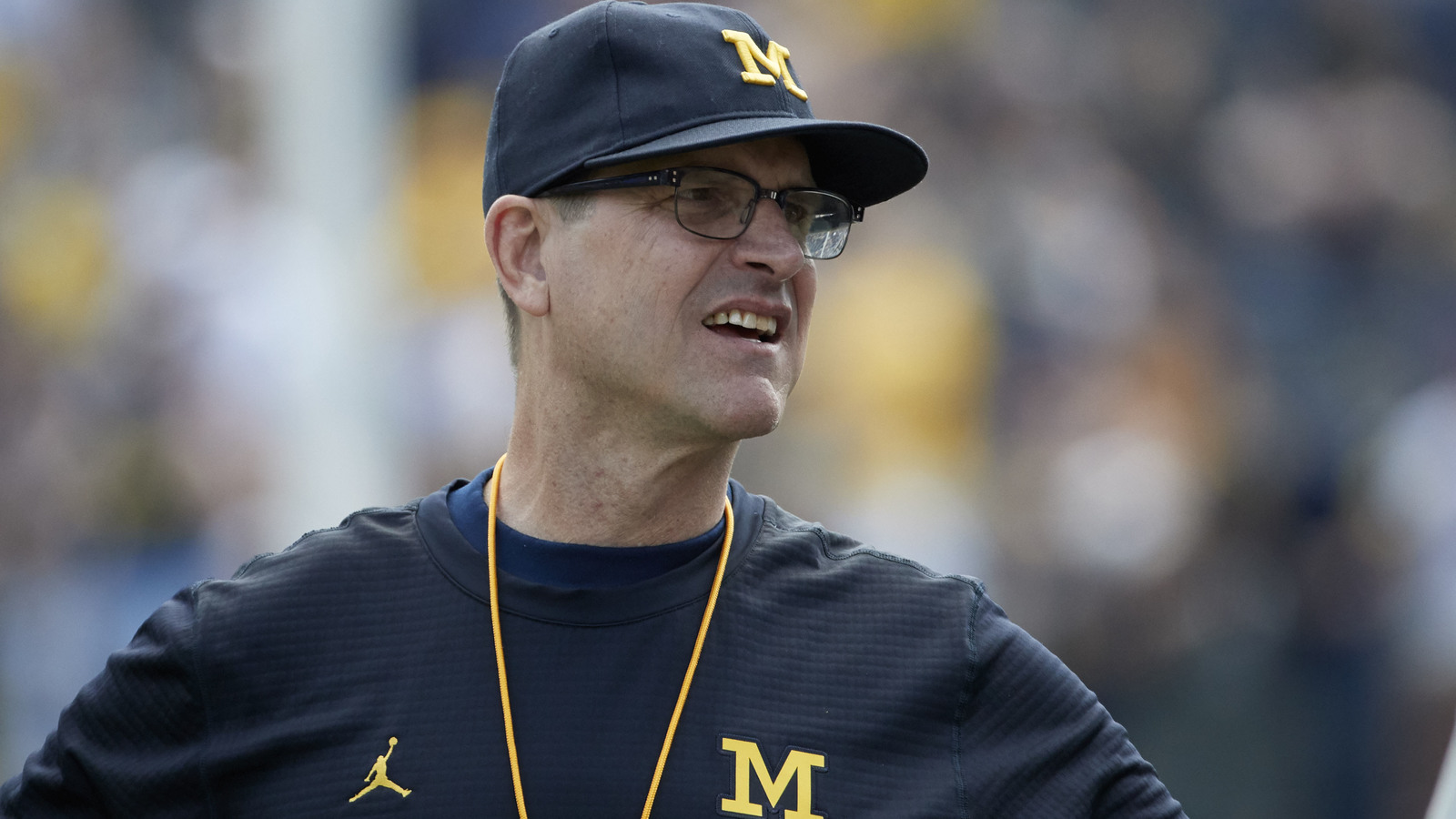 Jim Harbaugh Announces He S Not Leaving Michigan Yardbarker Com