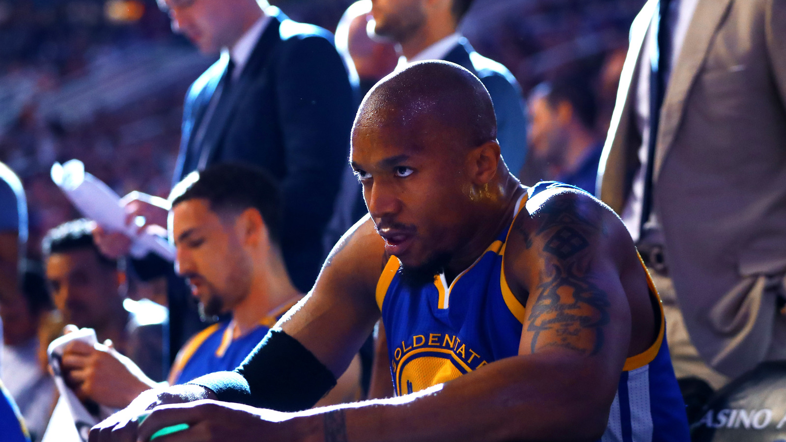 David West Warriors don t have issues because we municate