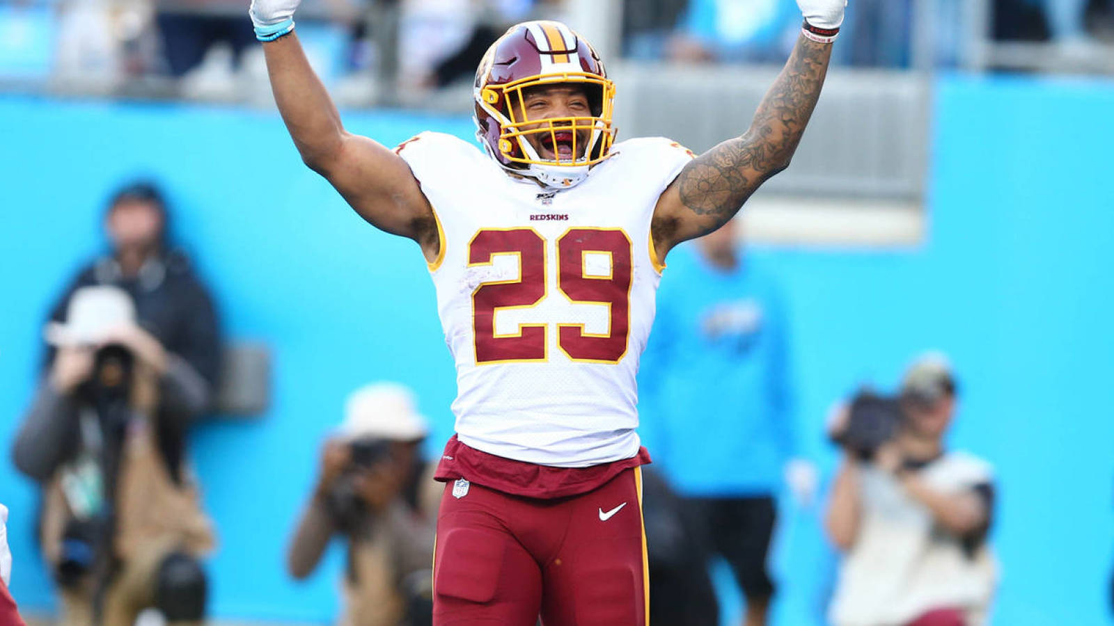 Domestic violence charges against Derrius Guice dismissed