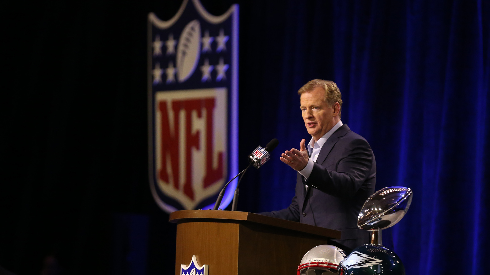 Even Roger Goodell is concerned with the National Football League  catch rule right now