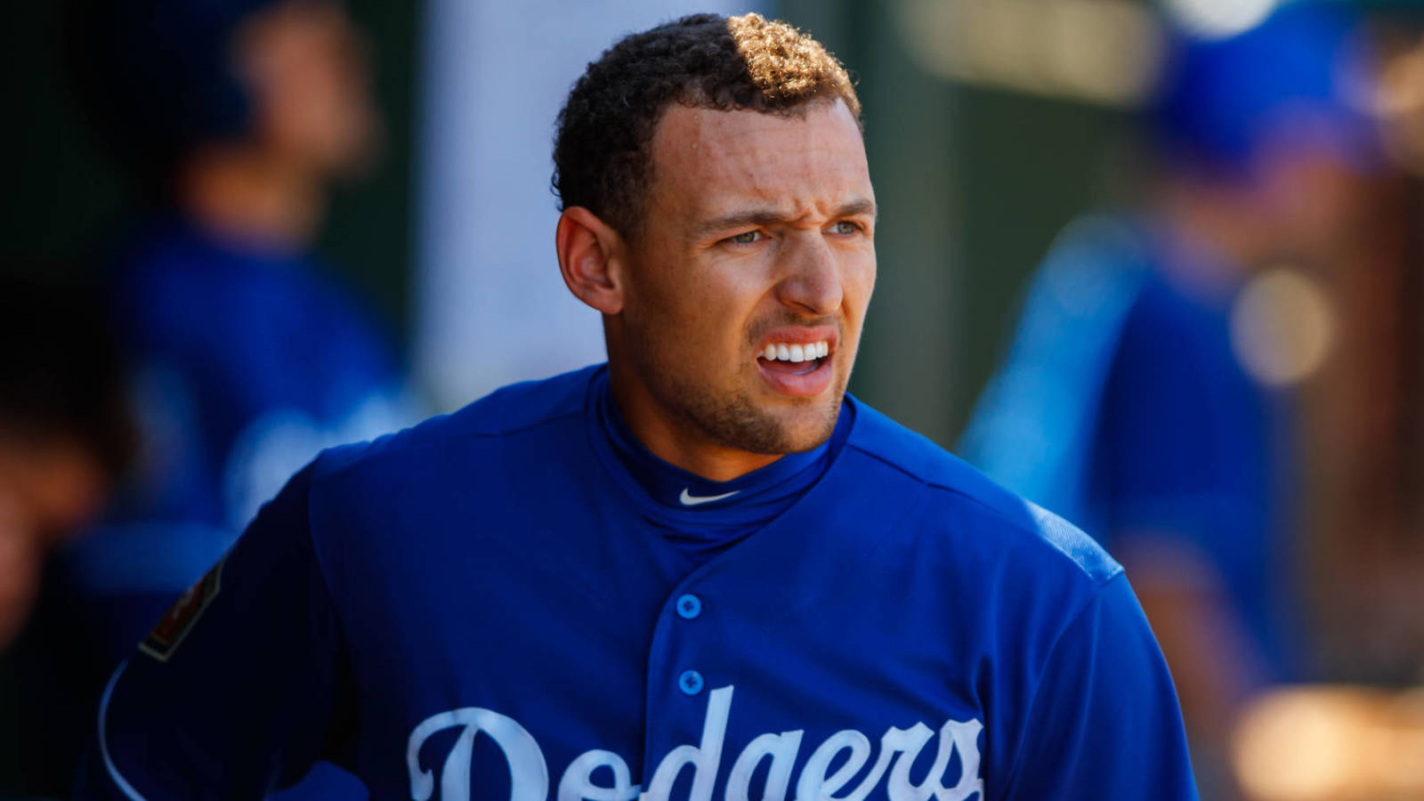 Former Dodgers outfielder Trayce Thompson claimed off waivers by New York Yankees