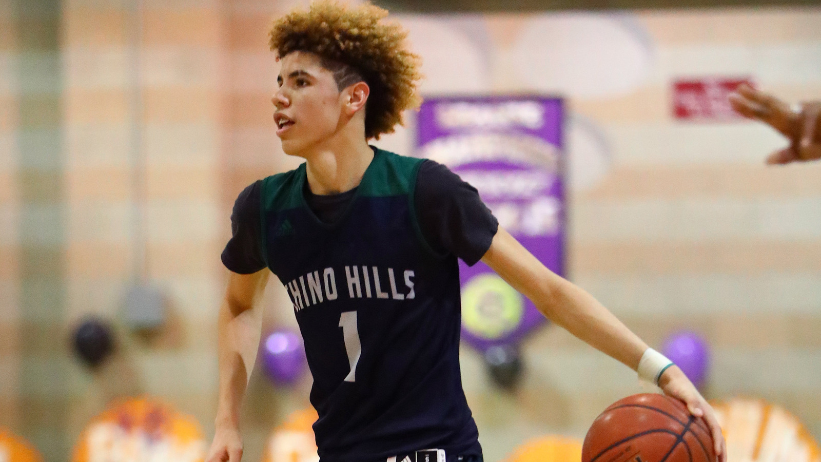 Watch Lamelo Ball Takes Flight Throws Down Massive Dunk