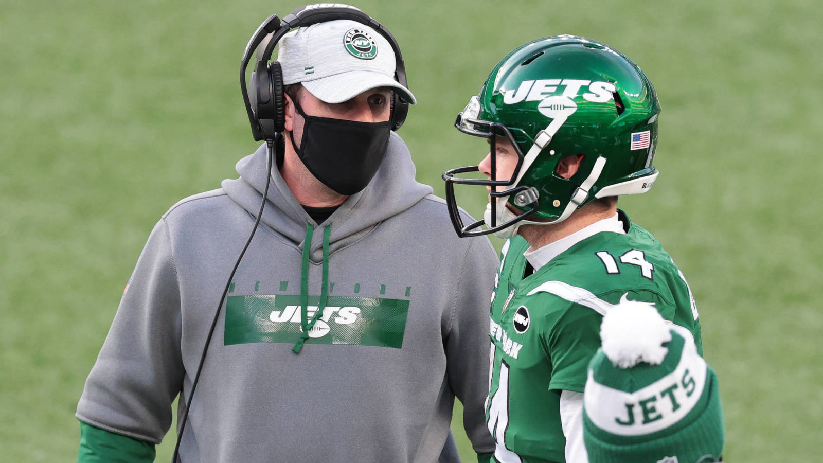 Photo of Ex-Jets center Ryan Kalil: Adam Gase 'didn't give Sam [Darnold] a lot of room to grow'