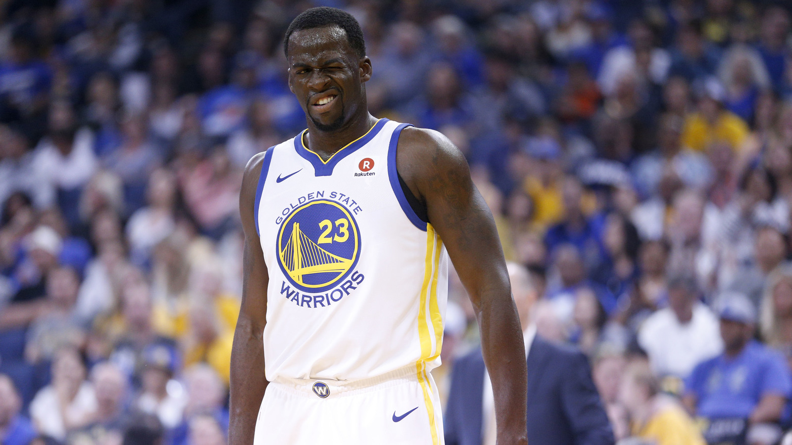 Draymond Green feels 'big relief' that knee injury was ...