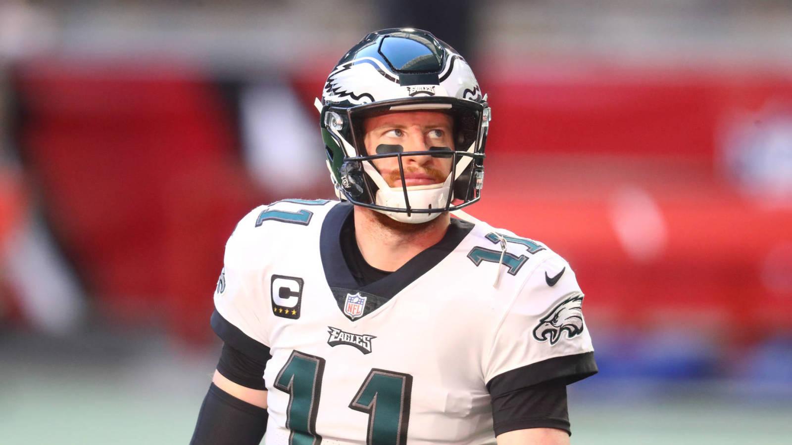 Carson Wentz reportedly still unhappy with Philadelphia Eagles