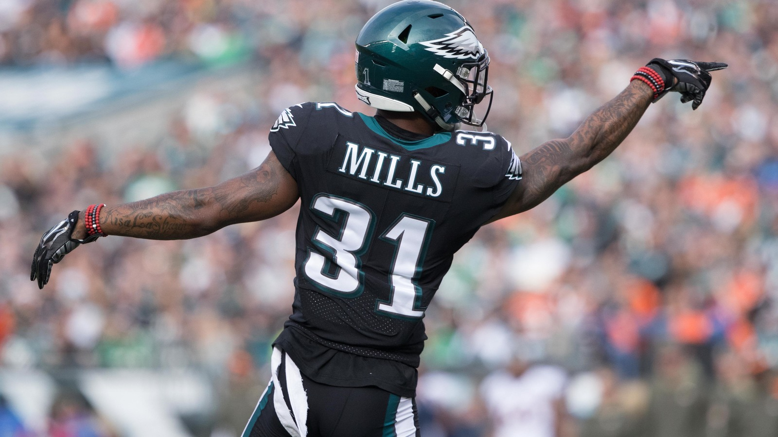 low priced 73c58 82d7d WATCH: Jalen Mills makes young fan's day, brings him to ...