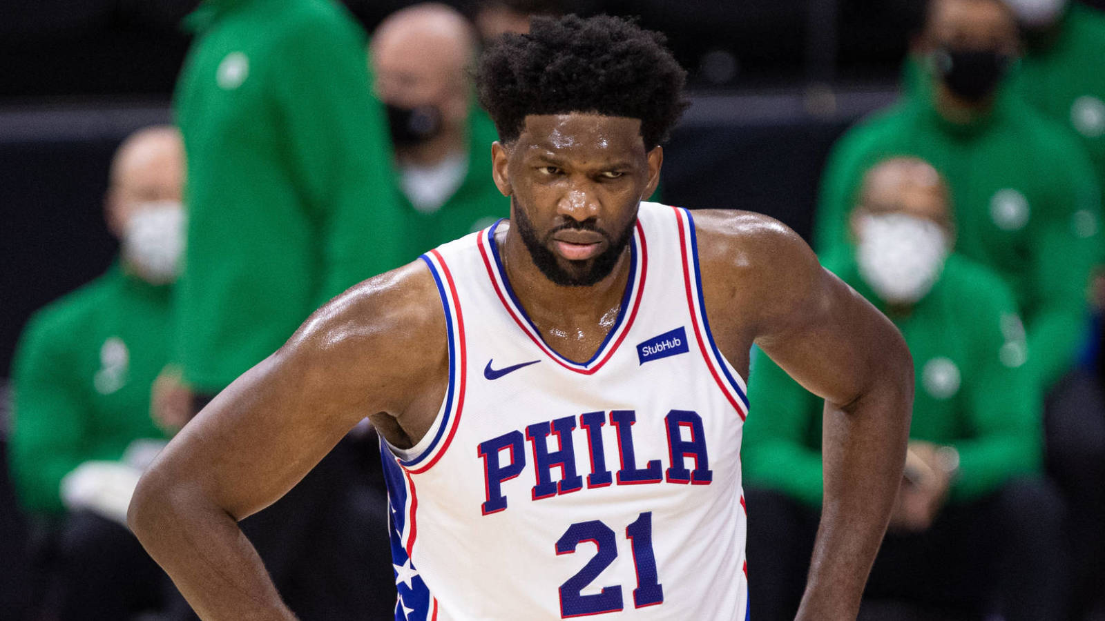 Joel Embiid hits back at Marcus Smart for accusing him of flopping