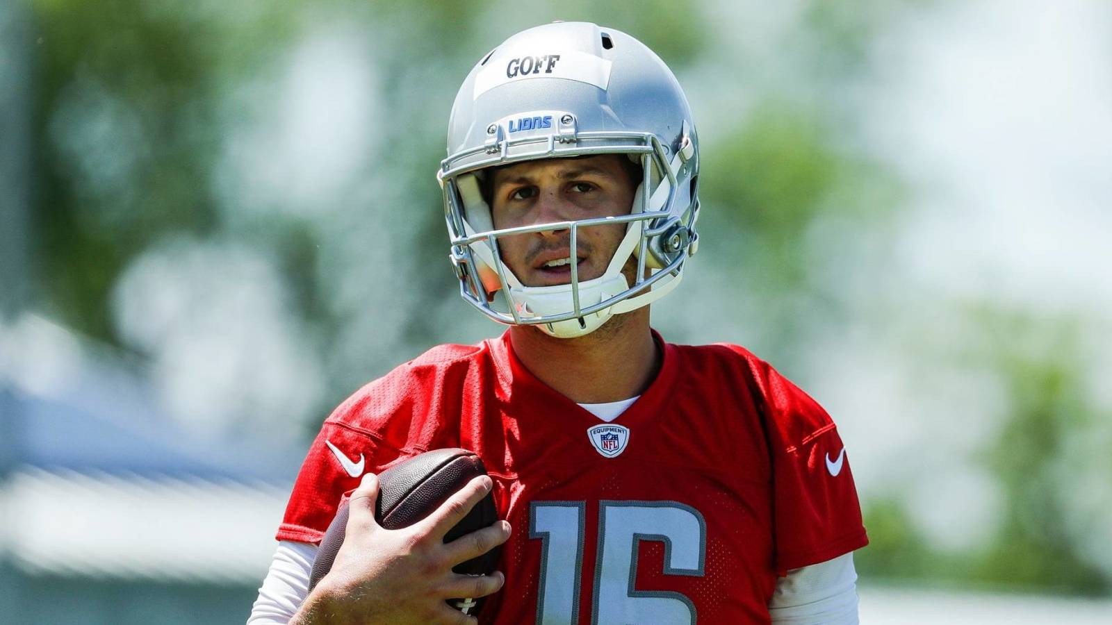 Lions OC: an 'absolute pleasure' to work with Jared Goff