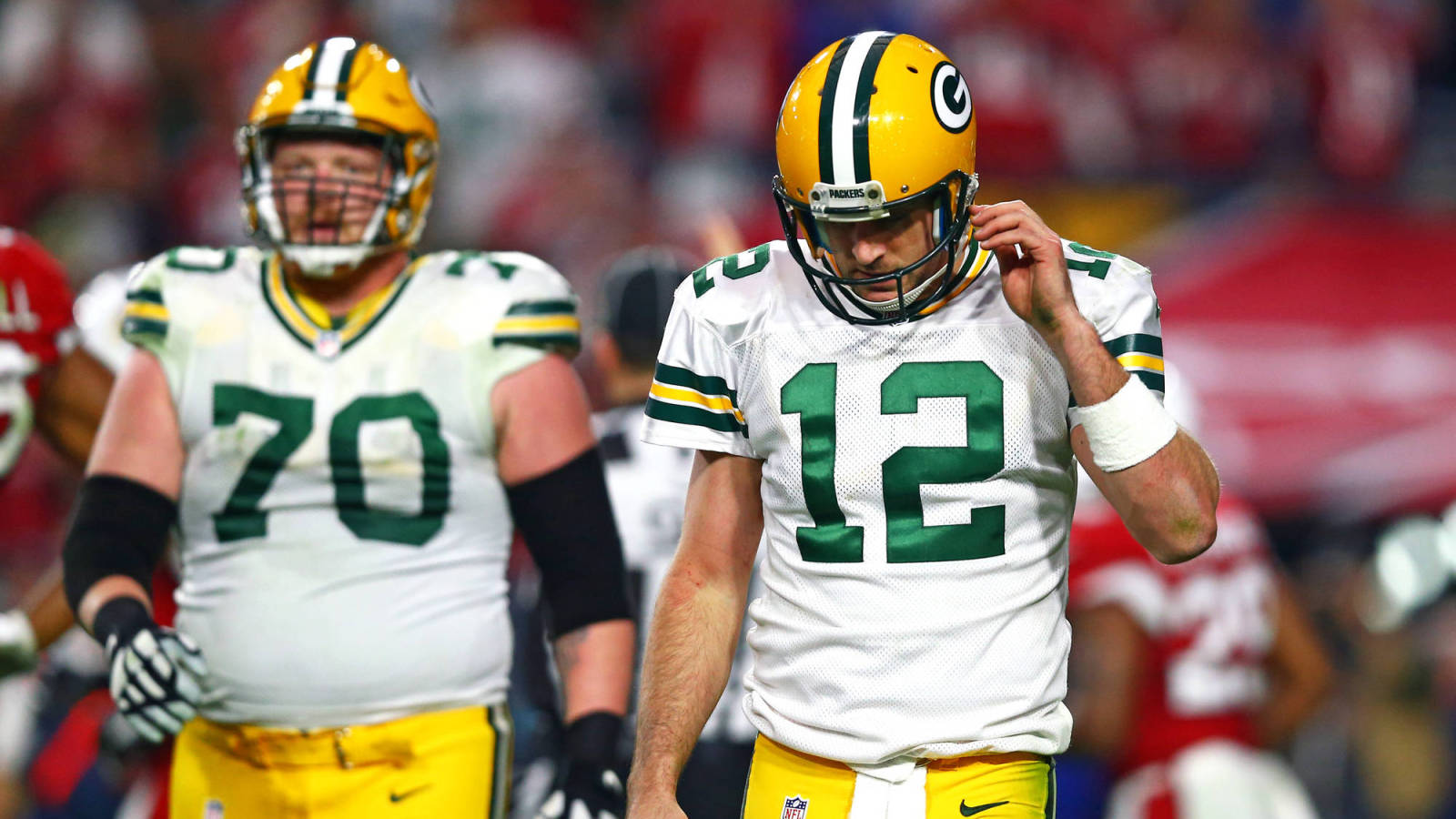 Aaron Rodgers to T J Lang Thanks for the protection and the
