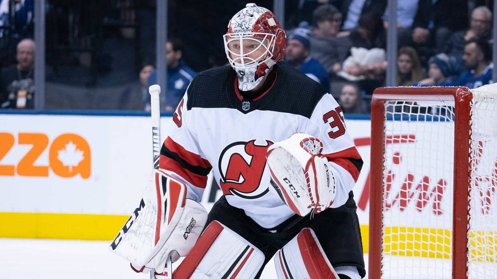Devils recall netminder Cory Schneider, hold out fellow goalie Louis Domingue