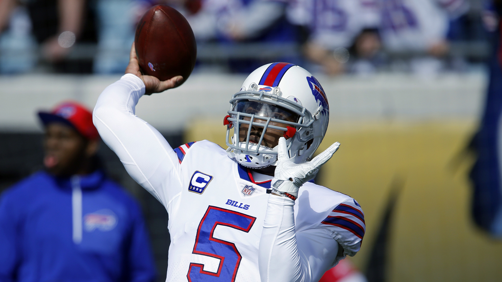 Bills are not planning on releasing QB Tyrod Taylor
