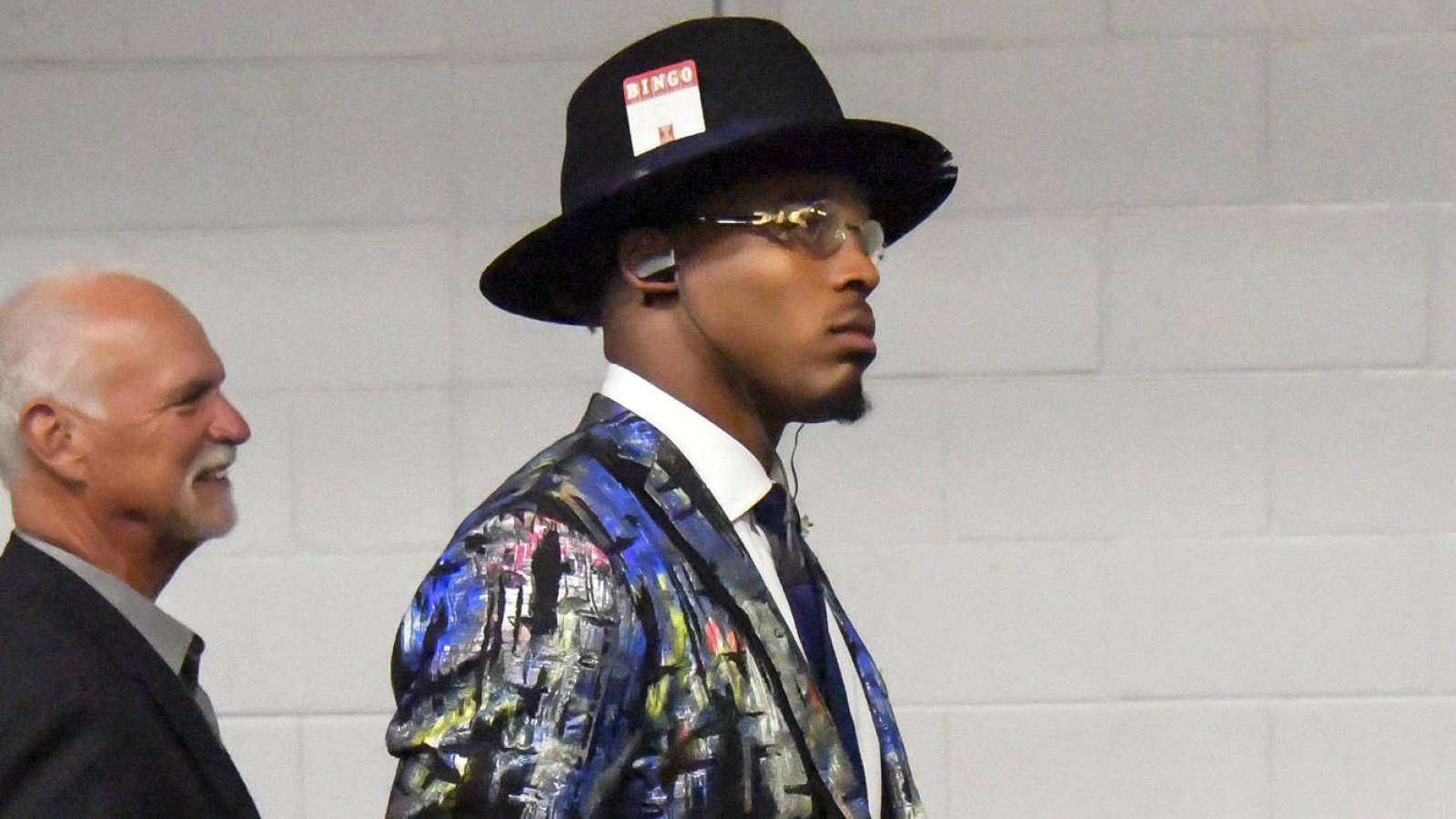 Cam Newton Does Not Disappoint With His Week 1 Fashion Statement Yardbarker