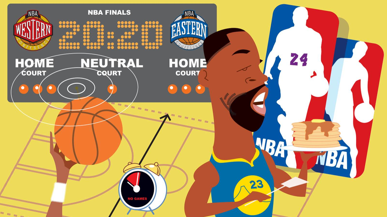 Super Fan sections and King of the Hill? Bold ideas to re-invent NBA for 2020s
