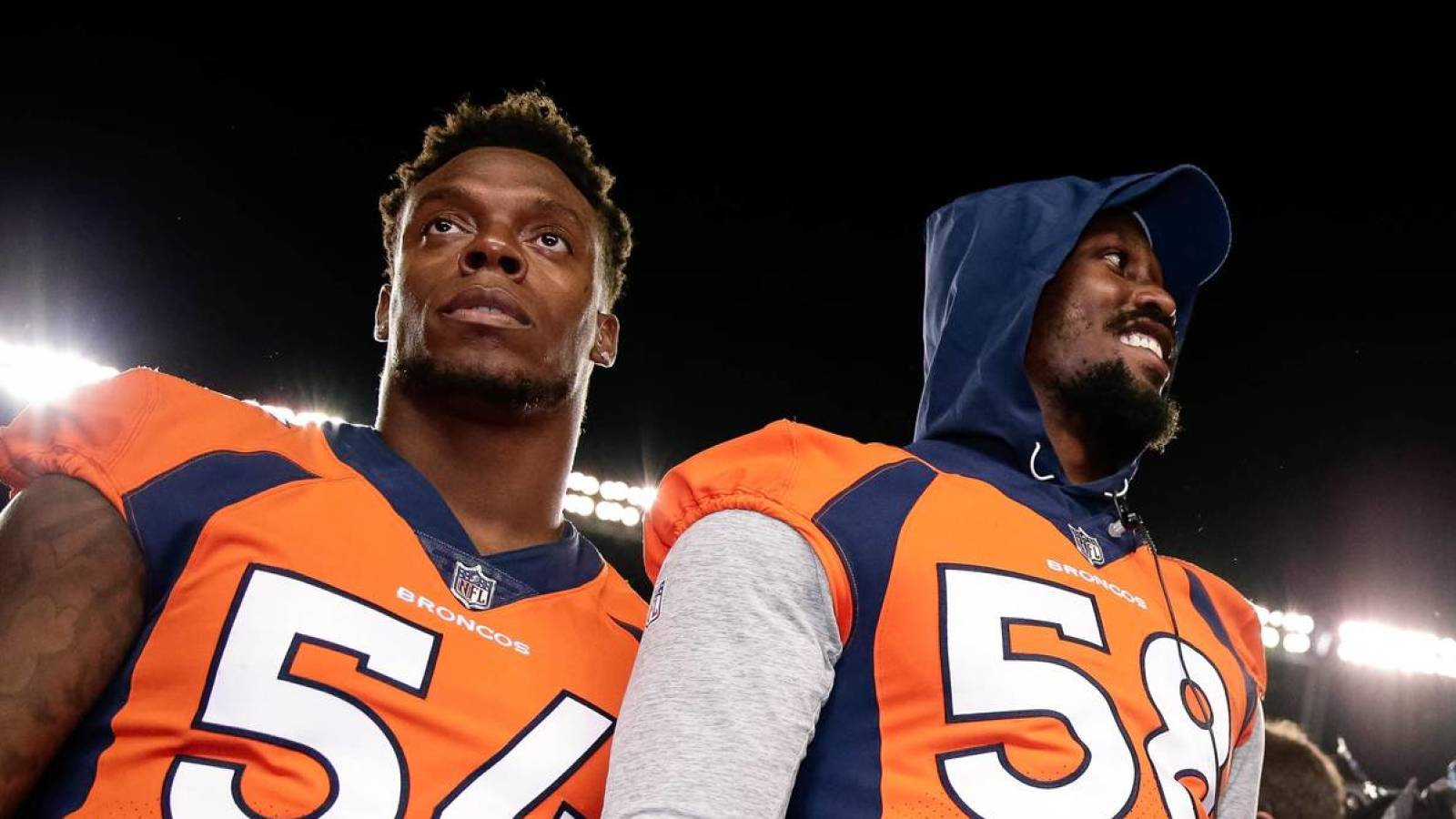 Broncos inside linebacker Brandon Marshall trolled teammate Von Miller with his Holloween costume. Isaiah J. Downing-USA TODAY Sports  sc 1 st  Yardbarker & Brandon Marshall trolls Von Miller with Halloween costume ...