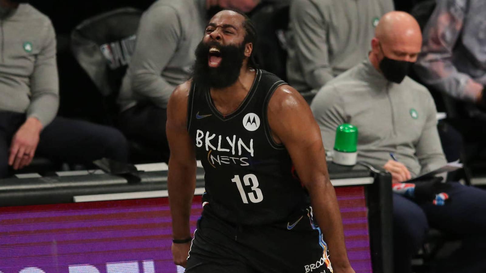 James Harden to miss game 3 with hamstring strain