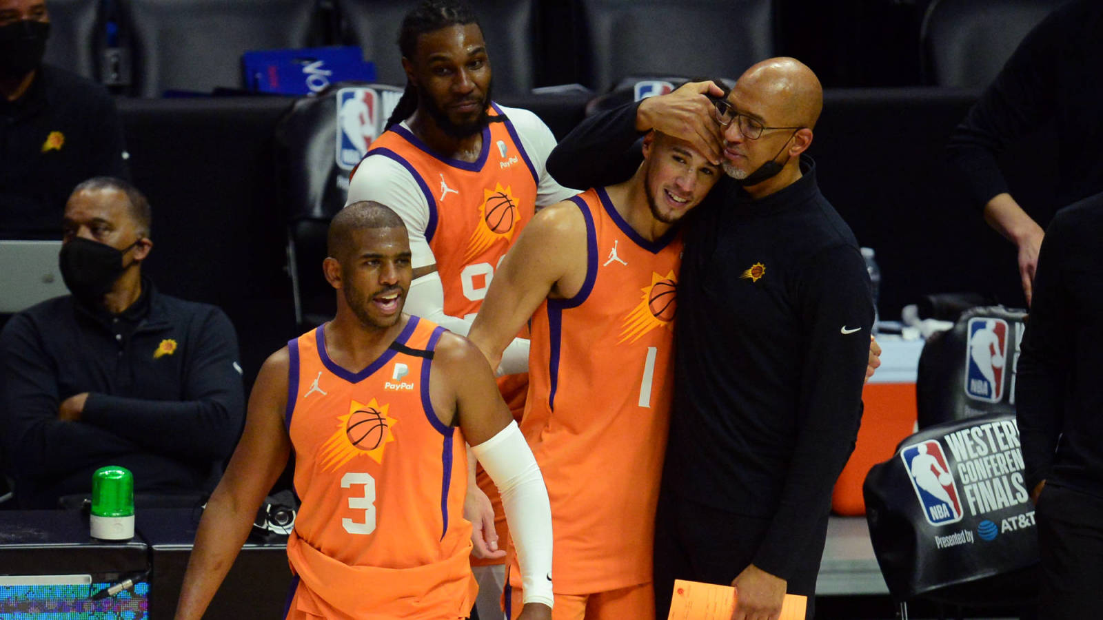 Suns, the betting favorites to win the NBA Finals over the Bucks